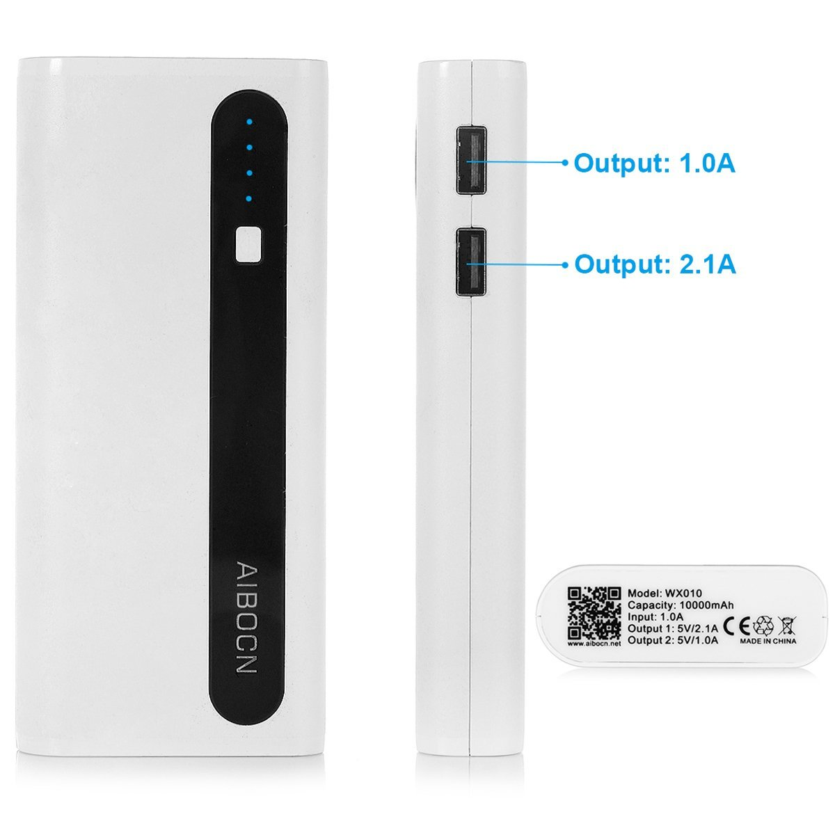 Android Phone Accessories Aibocn Power bank 2