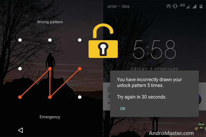 8 Simple Ways to Unlock Forgot Pattern Lock Android
